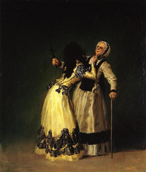 The Duchess of Alba and Her Duenna, 1795 - Francisco Goya
