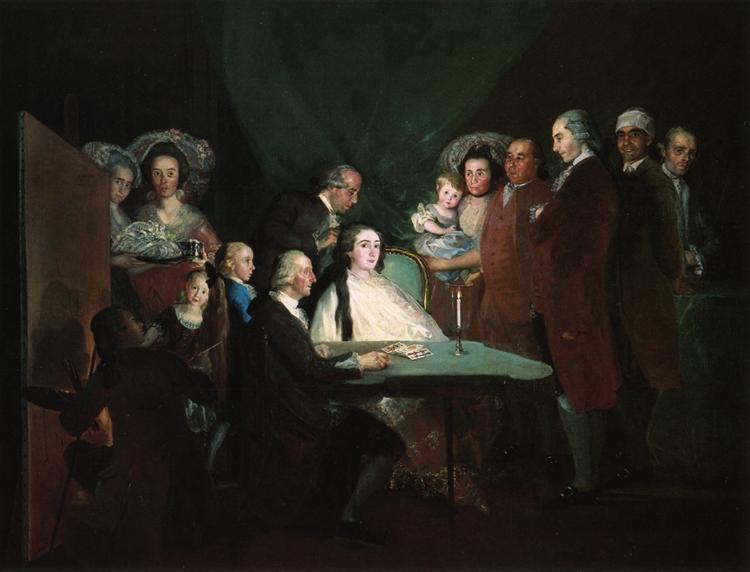 The Family of the Infante Don Luis, 1784 - Francisco Goya