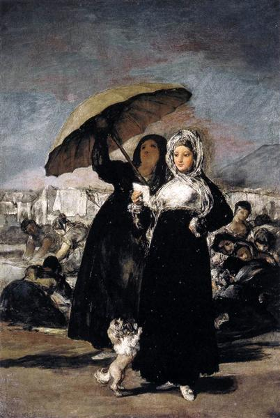 Young Woman with a Letter, 1812 - 1819 - Francisco Goya