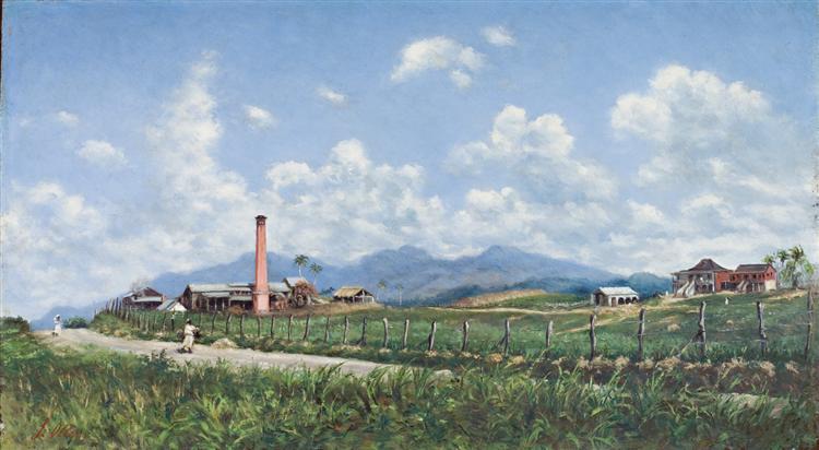 Hacienda Aurora, 1899 - Francisco Oller