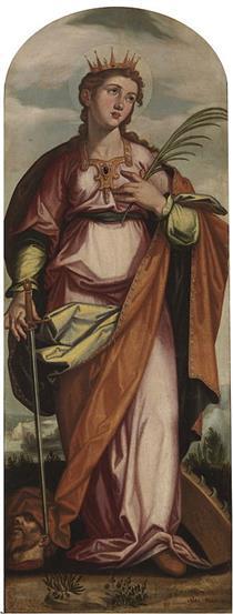 Santa Catalina - Francisco Pacheco