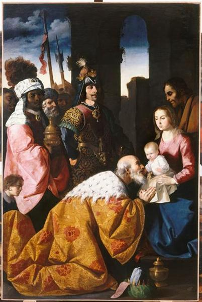 Adoration of the Magi, 1639 - 1640 - Francisco de Zurbaran