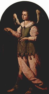Anjo com Incenso - Francisco de Zurbarán