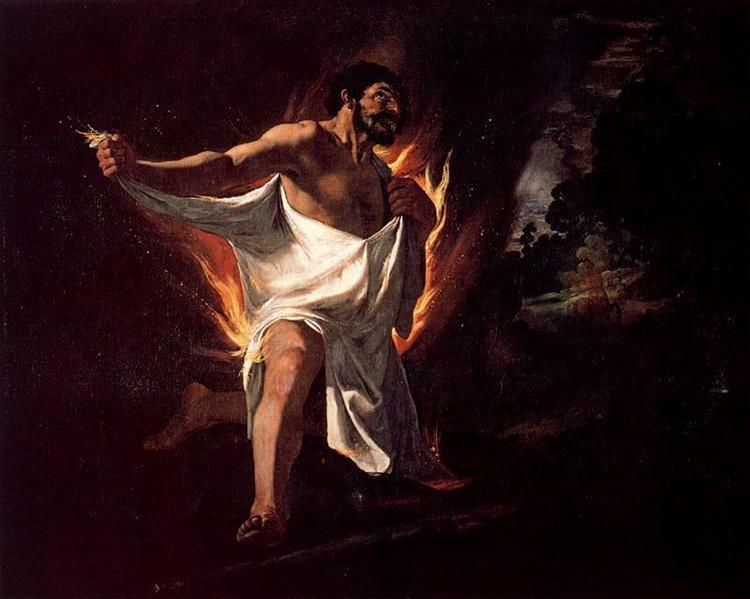 The Death of Hercules, 1634 - Francisco de Zurbaran