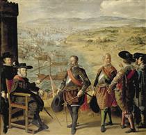 A Defesa de Cádiz contra os Ingleses - Francisco de Zurbarán