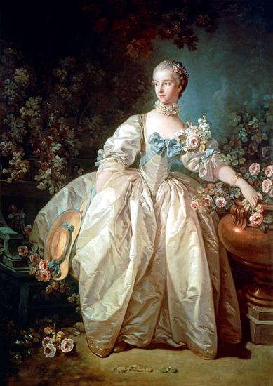 Madame Bergeret, 1766 - Francois Boucher