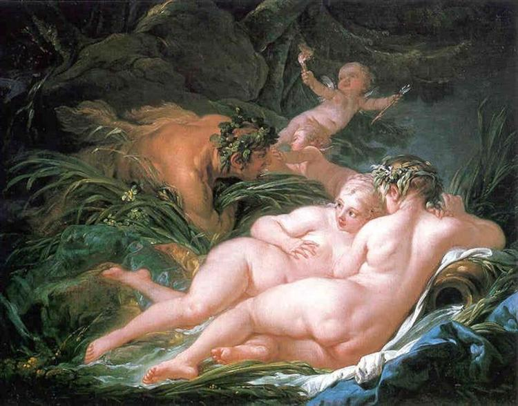 Pan and Syrinx, 1759 - Francois Boucher