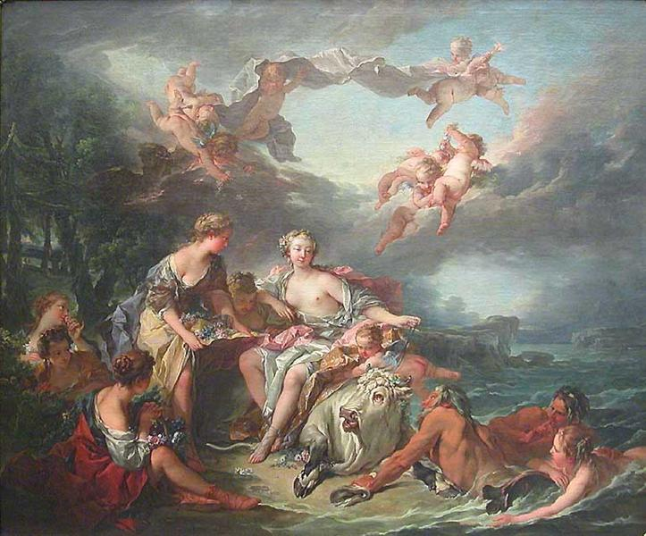 The Abduction of Europe, 1747 - Francois Boucher