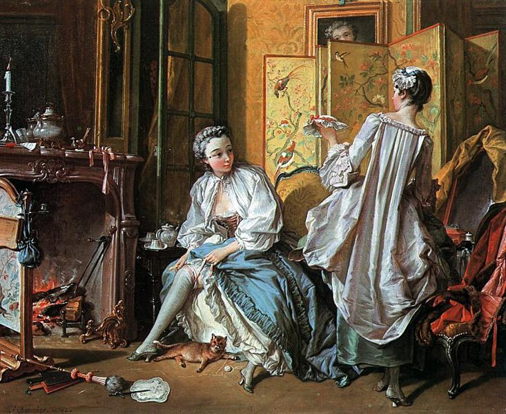 TheToilet, 1742 - Francois Boucher
