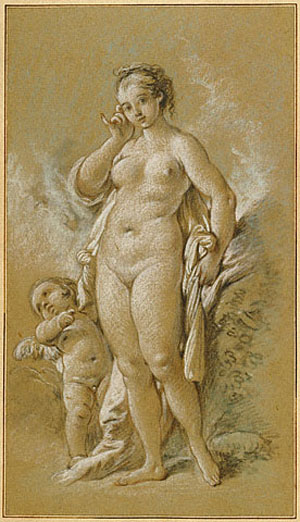 Venus and Cupid - Francois Boucher