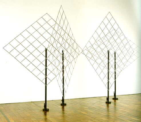 4 Self-distorting Grids, 1965 - Francois Morellet