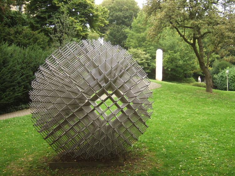 Sphere - Matter, 1962 - Francois Morellet