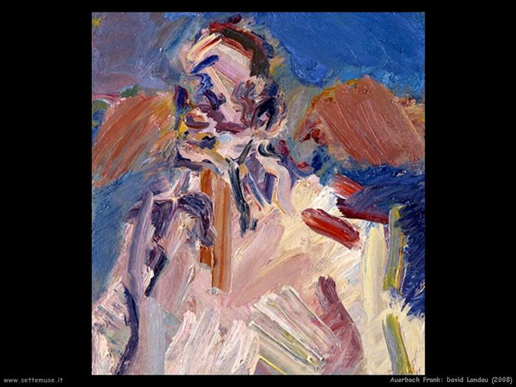 David Landau, 2008 - Frank Auerbach