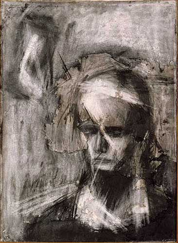 Head of Julia - Frank Auerbach