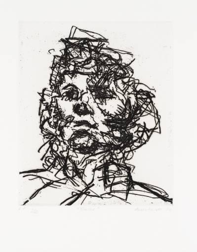 Jake, 1990 - Frank Auerbach