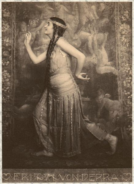 Fritzi von Derra - The Oriental Dancer, 1900 - Frank Eugene