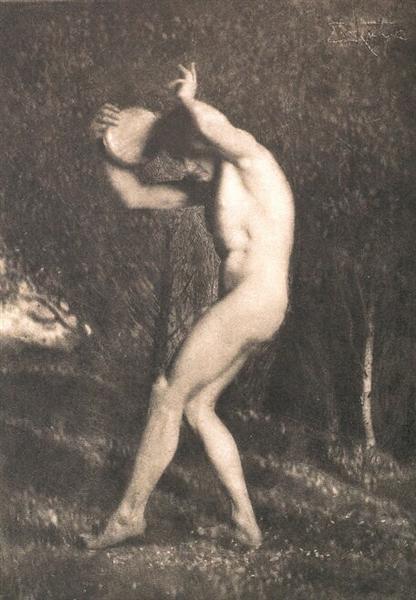 Male Nude, 1897 - Frank Eugene