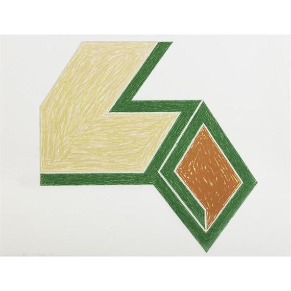 Eccentric Polygons - Effingham, 1974 - Frank Stella