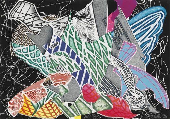 Hudson River Valley, 1996 - Frank Stella