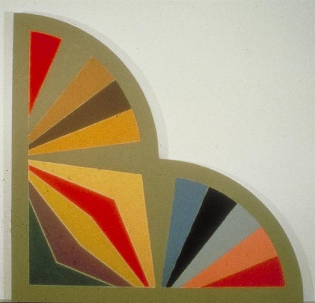 Sabra III, 1967 - Frank Stella