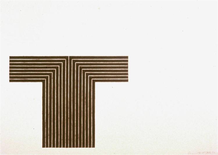 Telluride, 1970 - Frank Stella