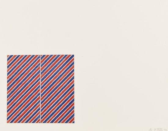 Tetuan III, 1973 - Frank Stella