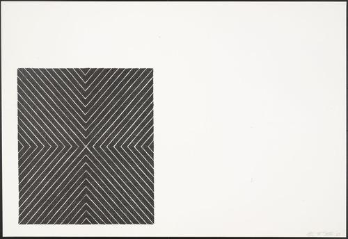Zambesi (from Black Series II), 1967 - Frank Stella