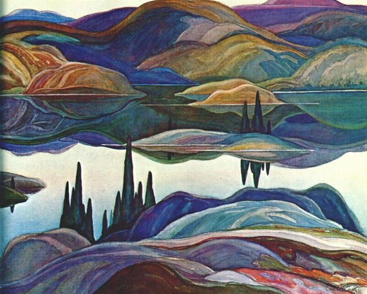 Mirror Lake, 1929 - Franklin Carmichael
