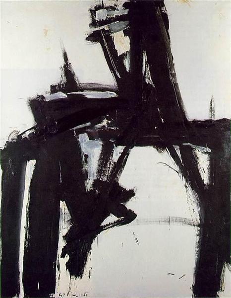 Untitled, 1957 - Franz Kline