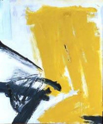 Zinc Yellow, 1959 - Франц Клайн