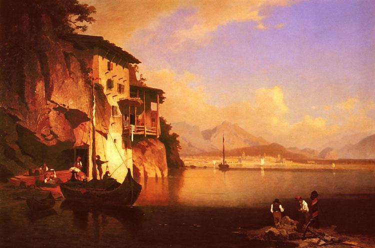 Motio del Lago de Garda - Franz Unterberger Richard