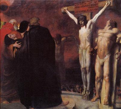 Crucifixion, 1892 - Franz Stuck