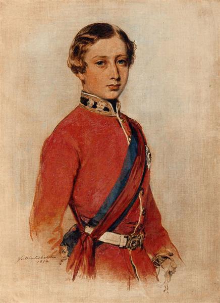 Albert Edward, Prince of Wales - Франц Ксавер Винтерхальтер