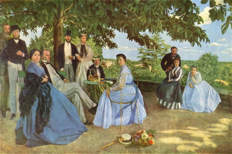 Family Reunion, 1867 - Frederic Bazille