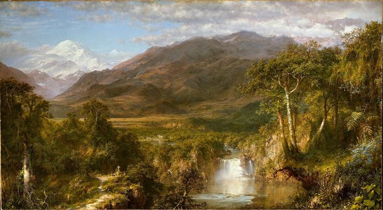 Heart of the Andes, 1859 - Frederic Edwin Church