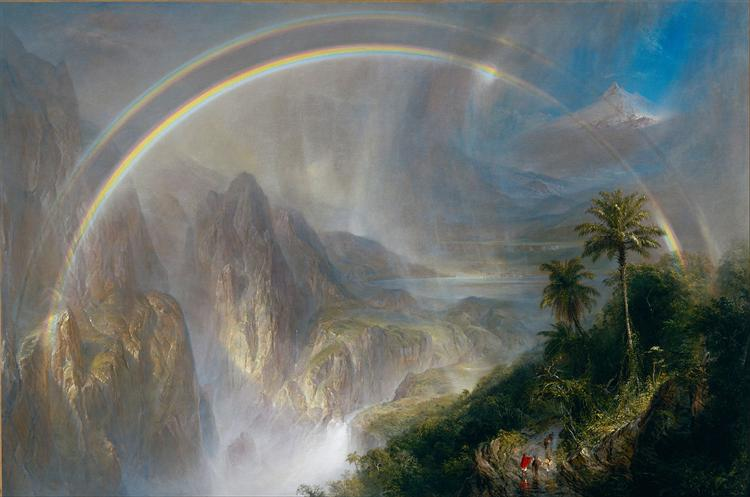 Rainy Season in the Tropics, 1866 - Frederic Edwin Church
