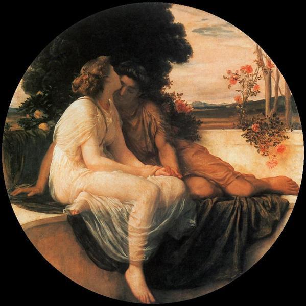 Acme and Septimius, c.1868 - Frederic Leighton