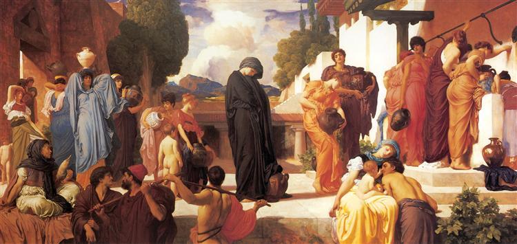 Captive Andromache, c.1886 - Frederic Leighton