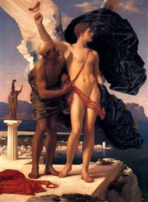 Icarus and Daedalus - Frederic Leighton