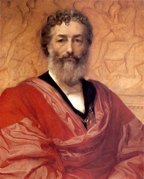 Self-portrait, 1880 - Frederic Leighton
