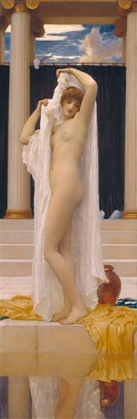 The Bath of Psyche, c.1890 - Frederic Leighton