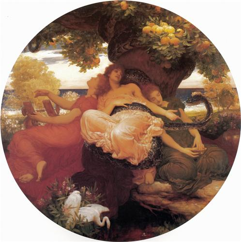 The Garden of the Hesperides - Frederic Leighton