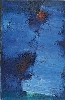 Untitled (Blue Field) - Фредерик Матус Тарс