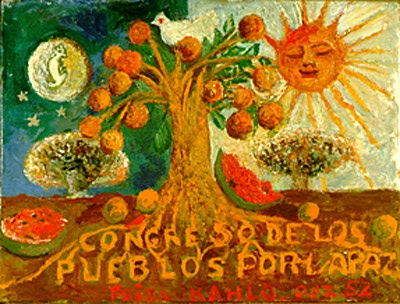 Congress of Peoples for Peace, 1952 - Frida Kahlo