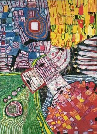 994 The Four Antipodes, 1999 - Friedensreich Hundertwasser
