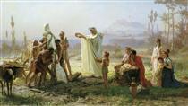Consecration of the herm - Fyodor Bronnikov
