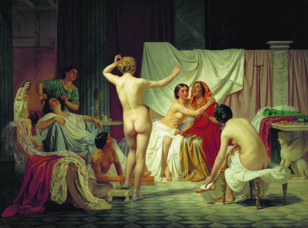 http://uploads7.wikipaintings.org/images/fyodor-bronnikov/the-roman-baths-1858.jpg