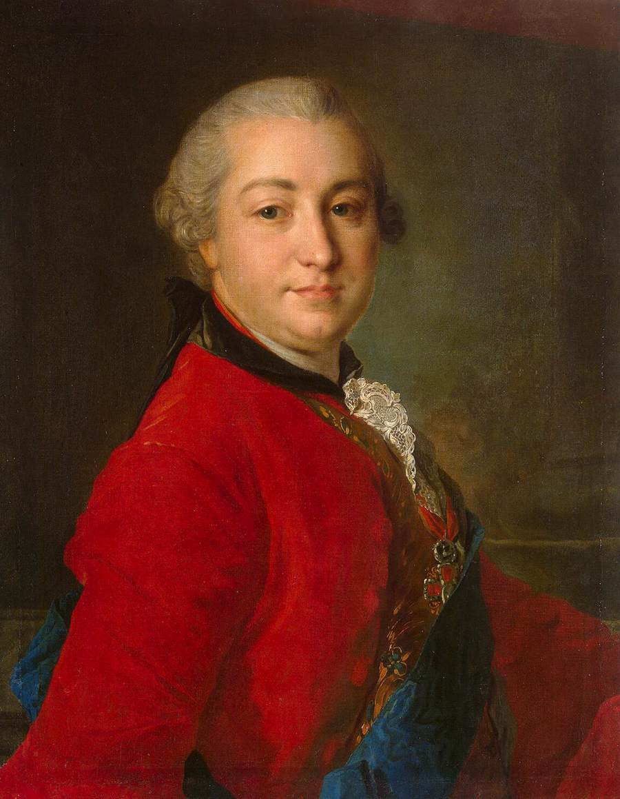 Portrait of Count Ivan Shuvalov, 1760