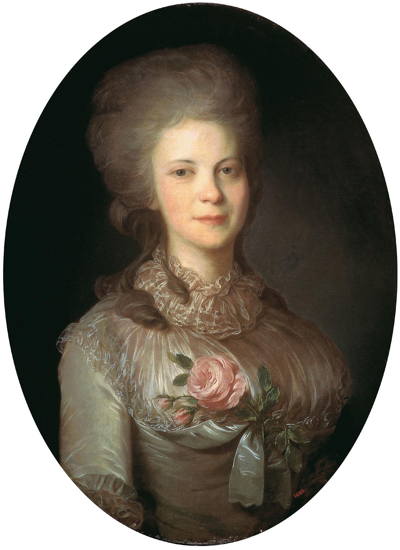 Portrait of Varvara Nikolaevna Surovceva, 1780