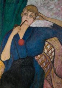 Anna Roslund (1891–1941) - Gabriele Munter